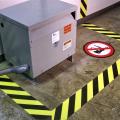 taśma podłogowa ostrzegawcza do znakowania hal i magazynów