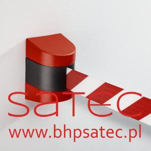 Kaseta ścienna z taśmą - bezpieczeństwo przemysłowe