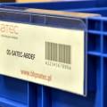 zawieszki na pojemniki - kieszenie magazynowe na dokumenty