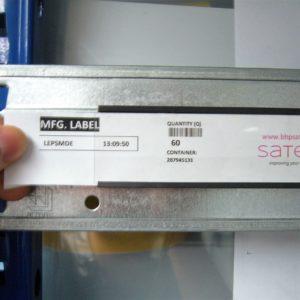 profil magnetyczny na regały, oznakowanie magazynowe