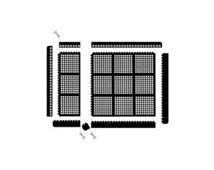 fatigue step - sposoby montażu maty modułowej