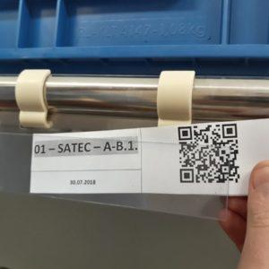 oznakowanie systemów rurkowo - złączkowych