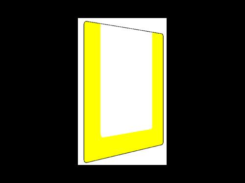 okienka podłogowe na etykiety podłogowe