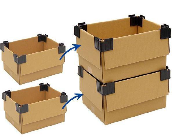 klipsy do kartonów, narożniki do kartonów, pakowanie, kartony