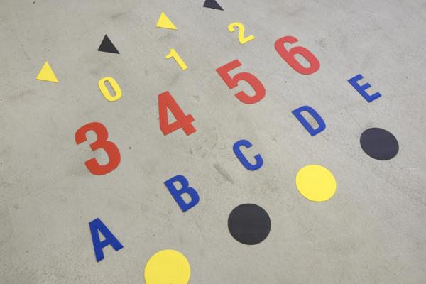 znaczniki podłogowe, znaczniki 5S, metoda 5S, oznakowanie 5S