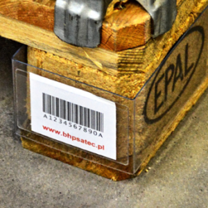 Banderola na etykietę na paletę