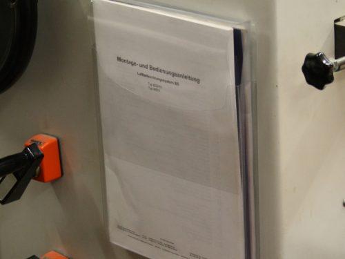 Kieszeń magazynowa na dokumenty samoprzylepna