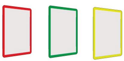 tablice i ramki informacyjne samoprzylepne