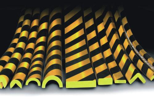 elastyczne profile ochronne, pianki ochronne