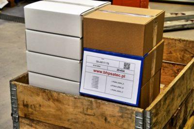 kieszeń do kartonów - zawieszki magazynowe na dokumenty