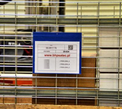 Kieszenie magazynowe na dokumenty - zawieszki magazynowe
