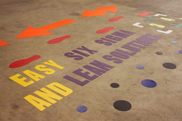znaczniki podłogowe, znaczniki 5s, oznakowanie podłogowe, kształty 5s