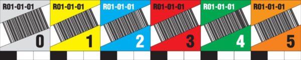 etykiety regałowe poziome