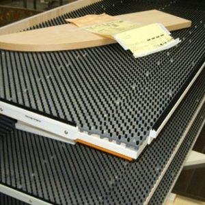 szczotki techniczne panelowe SATEC - dla przemysłu meblarskiego