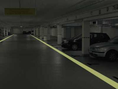 farba fotoluminescencyjna na podłogę