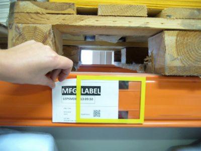 Ramki magnetyczne na regały, ramki na dokumenty