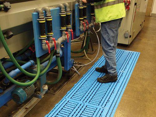 podesty podłogowe modułowe work deck, podesty przemysłowe