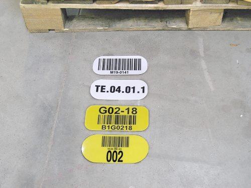 etykiety podłogowe, etykiety magazynowe podłogowe