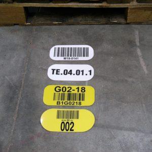 Etykiety Podłogowe na Magazyn, oznaczanie pól odkładczych