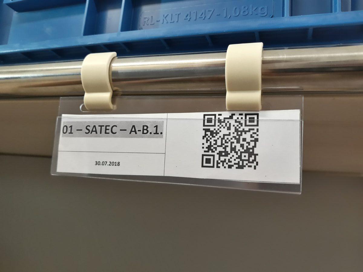 etykiety na regały przepływowe
