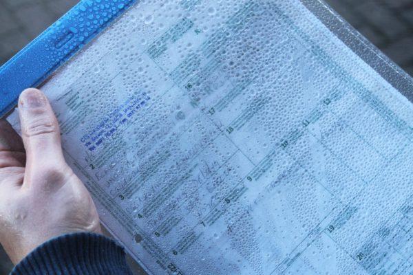 kieszenie magazynowe wodoszczelne, kieszenie na dokument wodoodporne, zawieszki magazynowe na zewnątrz