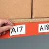 etykiety suchościeralne na regały magazynowe, etykiety regałowe magnetyczne suchościeralne, etykiety na regały magnetyczne suchościeralne