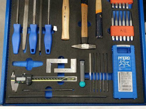 wkłady piankowe do szuflad narzędziowych, pianki do szuflad, pianki na narzędzia, pianki do szuflad wózka warsztatowego