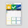 tablica sqdc, tablica visual management, tablica do wizualizacji, zarzadzanie wizualne tablica