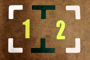 5 Kształty 5s do oklejania podłogi w hali, magazynie, narożniki do znakowania palet, składowania-min